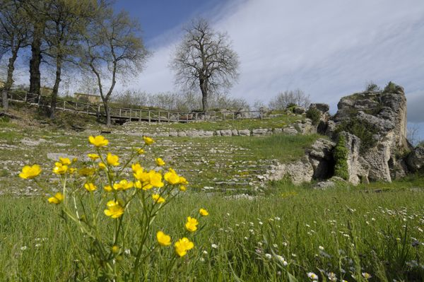 parco archeologico di urbs salvia #urbisaglia
