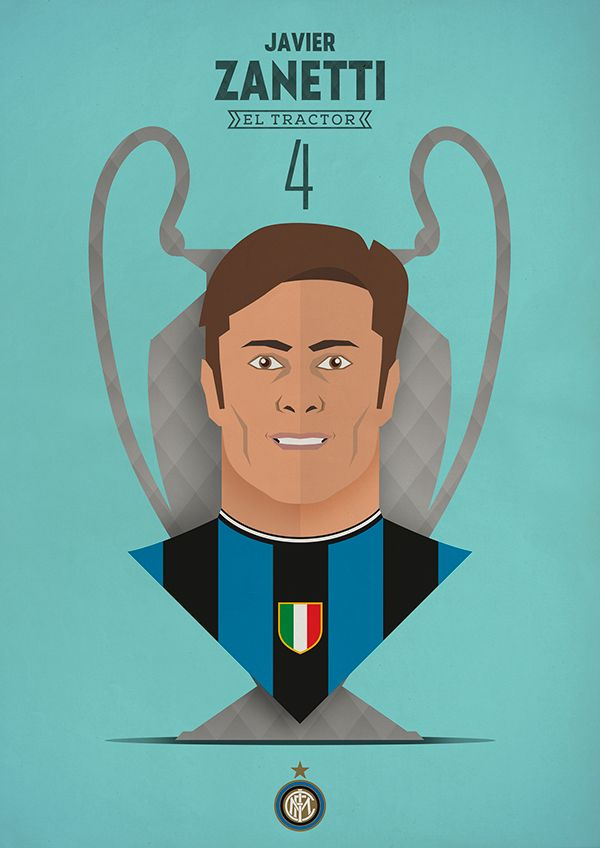 FC INTER - Thank you heroes by Francesco Pedrazzini, via Behance
