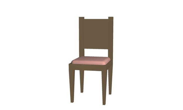 Basic Wooden Chair  http://black-bladen.deviantart.com/art/CHAIR-192102642?q=gallery%3ABlAcK-BlADEn%2F28427554&qo=6