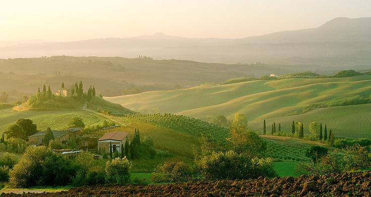 Tuscany Dawn - Tuscany, Italy