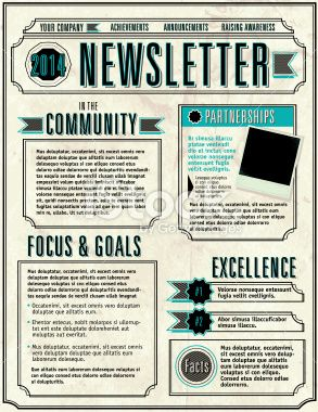 Best 25+ Newsletter layout ideas on Pinterest