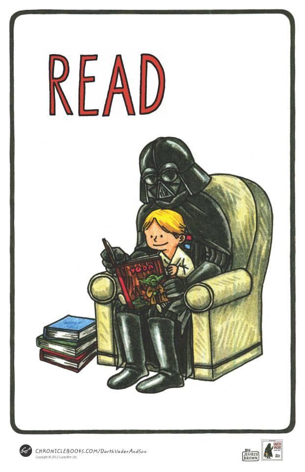 Darth and son.: Darth Vader, Idea, Book, Star Wars, Youth Services, Its, Starwars