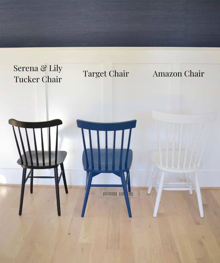 3 Windsor Chairs Serena Lily Tucker Chair Vs Amazon Vs Target