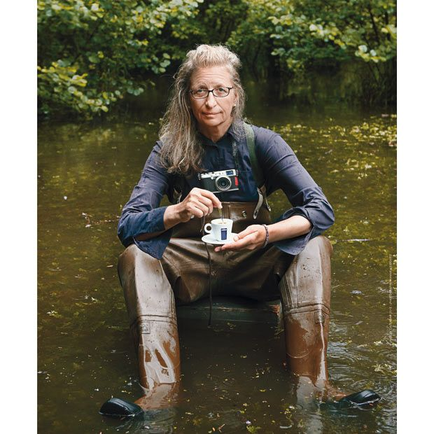 September: Annie Leibovitz, who photographed the 2009 calendar, writes: 'My work forces me to travel all the time. Flights, delays, lost baggage, jet lag, endless journeys onboard the weirdest means of transport. No matter how far I travel, I can never escape the way I can when I am behind my camera. That is my real break from the world. Those are the moments I dedicate to myself.'