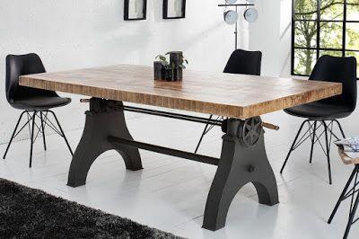 Luxusný nábytok REACTION: Jedálensky stôl ENGINEER.