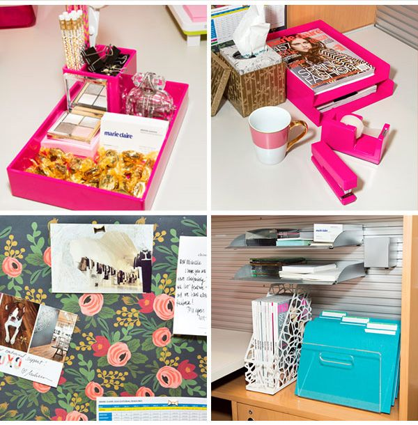 Work Office Decor Ways To Make Your Cubicle Suck Less Work: Gussy Up Your Desk With These 20 Cute Office Accessories