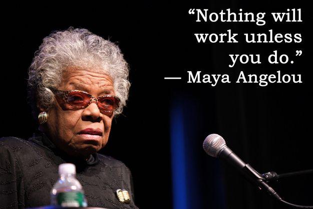 全米が尊敬する黒人女性作家「マヤ・アンジェロウ」の17の言葉 – CuRAZY