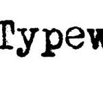 Font in stile macchina da scrivere per progetti grafici vintage