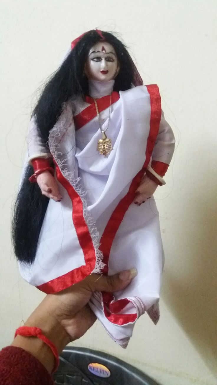 Bengali bride doll..
