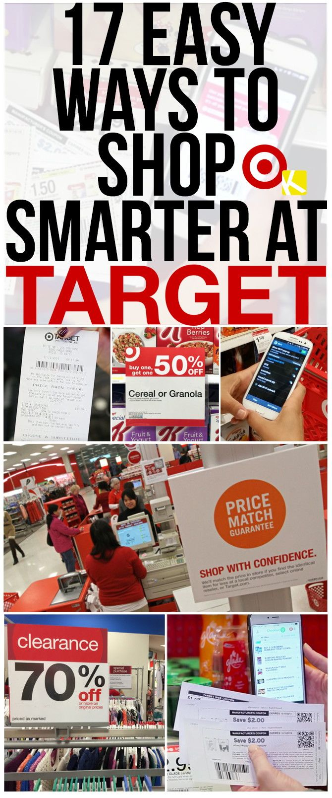 The beautiful thing about shopping at Target? There are multiple ways to stack coupons and discounts for krazy-awesome savings. It's a couponer's dream store! Do these 17...