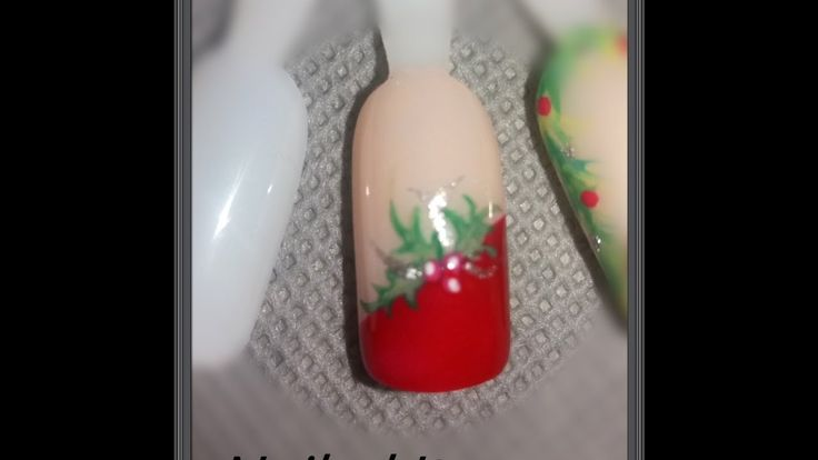 Christmas Design (Nailed It) | 2016 Winter Nails Tutorial