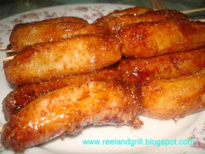 Recipe Banana Que (Deep Fried Banana with Caramelized Sugar) by Reel and Grill
