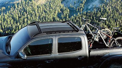 genuine toyota tacoma double cab only 2012 2017 factory roof rack pt27835140 toyota tacoma. Black Bedroom Furniture Sets. Home Design Ideas