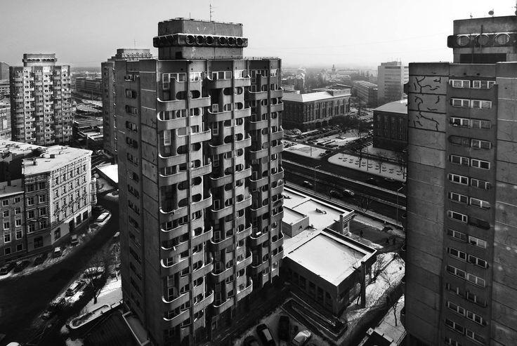 """""""Sedesowce"""" Housing units in Wrocław, Poland  architect Jadwiga Grabowska-Hawrylak"""