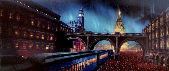 Polar Express Christmas Train