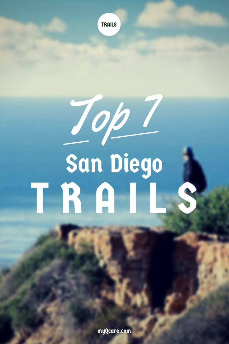 http://myqcare.com/top-hiking-trails-san-diego-county BEST PLACES TO HIKE IN SAN DIEGO county - spots with beautiful views of the ocean, lakes, waterfalls, and the downtown skyline. Being active and getting exercise doesn't have to be boring! Get out and enjoy the outdoors!