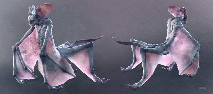 [Postać 3D] Nietoperz