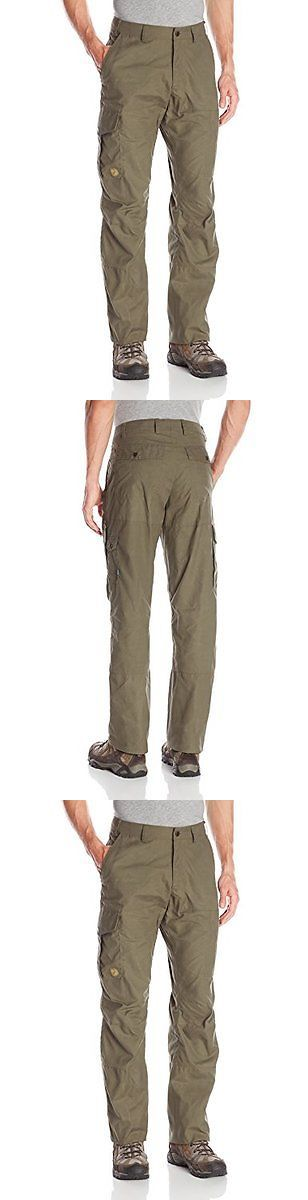 Pants and Shorts 181360: Fjallraven Men S Karl Trousers Long Tarmac Dark Olive 54 Mens Hiking Pant -> BUY IT NOW ONLY: $159.2 on eBay!