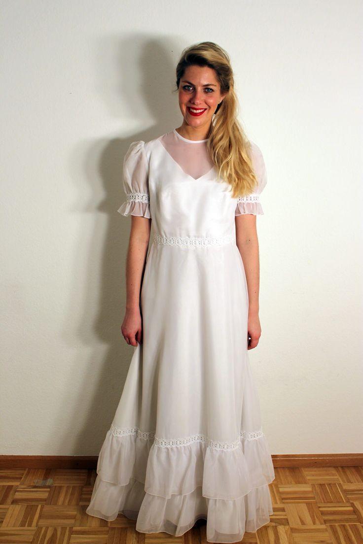 22 besten Vintage Hochzeitskleider Bilder auf Pinterest | Blumen ...