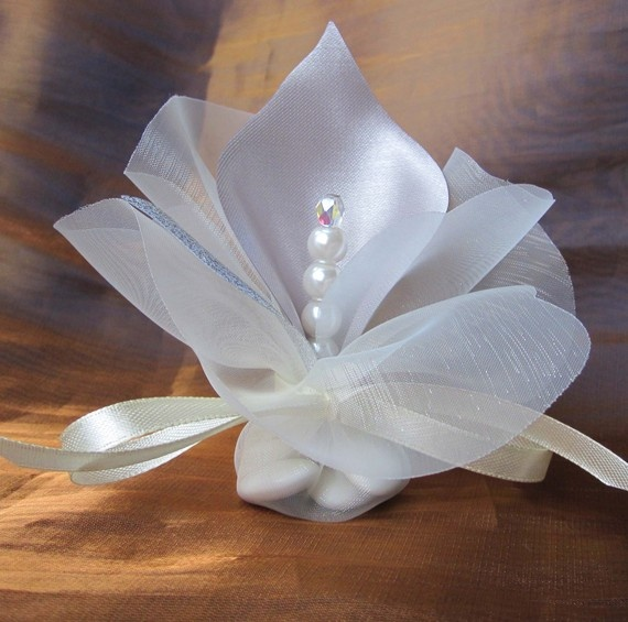 wedding favors table decoration calla lily crystal by adiart1, $1.40