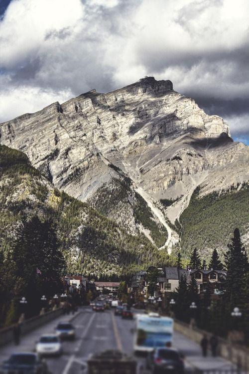 Main Street - Banff, AB prints available via irvingcreaphotos@outlook.com