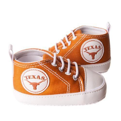 Texas Longhorns Infant Burnt Orange Crawler Shoes