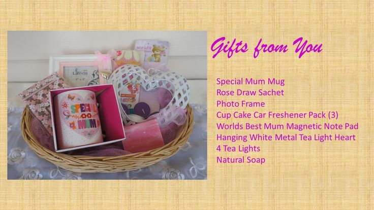Gift basket for special #Mum for Mothers Day or simply to let her know you love her. Valued at $40.00