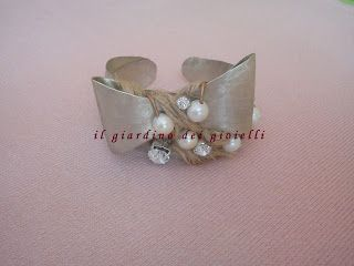 il giardino dei gioielli: βραχιόλια από μέταλλο-bracciali di metallo