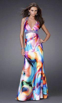 Tye Dye Prom Dresses 99