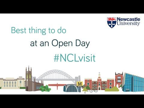 What's The Best Thing To Do At An Open Day - Newcastle University Open Days - YouTube