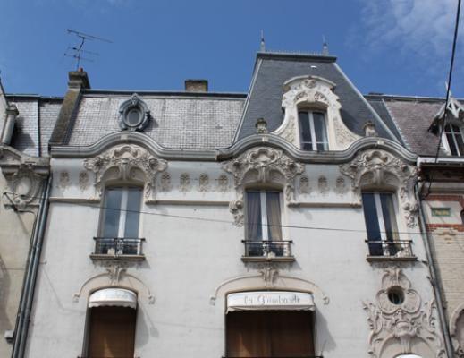 maison CAURAS ,Maison art nouveau  à Châlons-en-Champagne , France