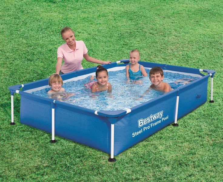 BESTWAY 56401 PISCINA PER BAMBINI STEEL PRO FRAME CM.221x150x43h. http://www.decariashop.it/piscine-per-bambini/20777-bestway-56401-piscina-per-bambini-steel-pro-frame-cm221x150x43h.html