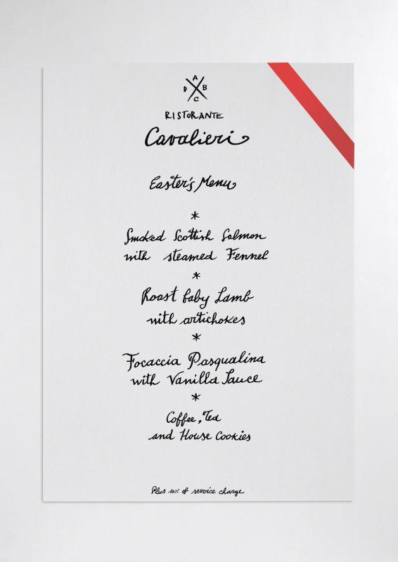 Un menu di ristorante elegante, scritto a mano è tutt'altra cosa che stampato o scritto male. Come sempre. Una grande tipografia, tanto e tanto, ma scritto male o stampato con la propria stampantina proprio dequalifica lo chef e il ristorante. Dico così, naturalmente, perché anche questa calligrafia l'ho fatta io.  Calligraphy.