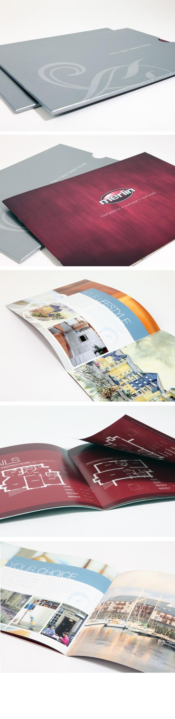 Brochure Design   Merlin Homes, Aberystwyth By Octopus Creative Design, Via  Behance