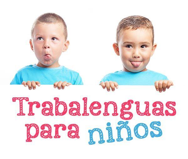 TRABALENGUAS CORTOS PARA NIÑOS ➡ Los trabalenguas infantiles ayudan a incorporar vocabulario y mejorar la pronunciación ¡Aprende los 20 mejores trabalenguas para niños del mundo! Algunos más fáciles y otros un poquito más difíciles, pero todos muy divertidos.