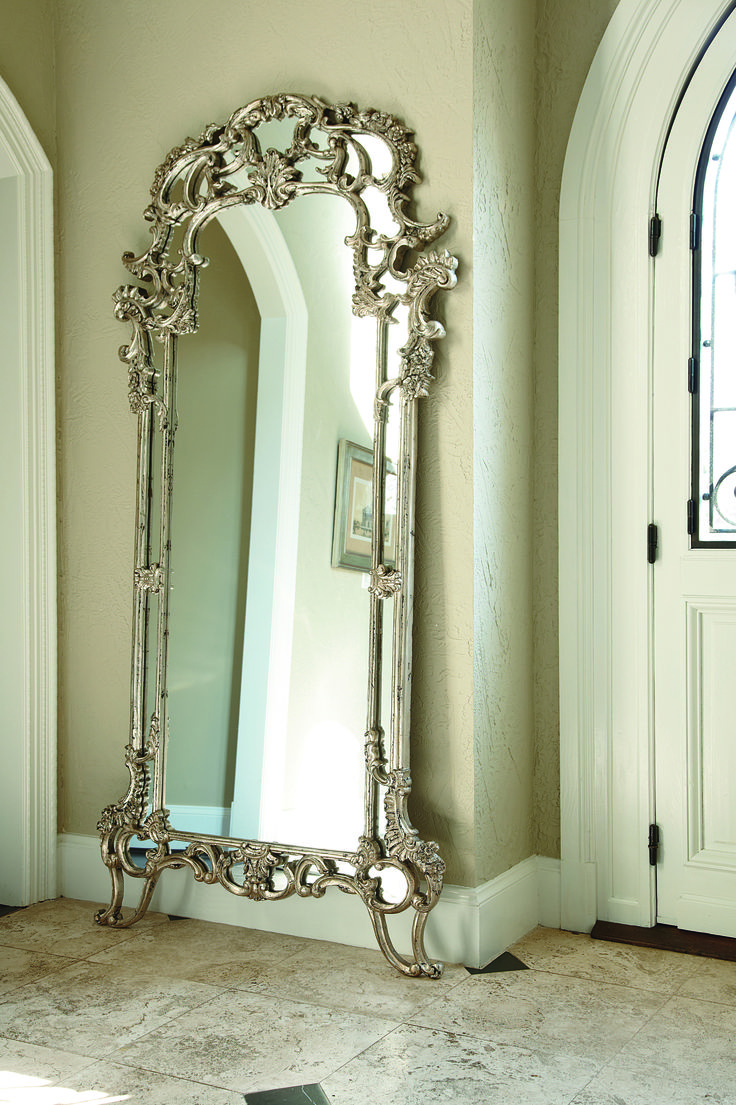 Beautiful Floor Mirror By American Drew Traditional
