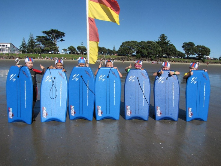 Orewa Surf Life Saving Club Nippers with their fantastic Northern Arena Boogie Boards...one many great clubs, schools and events we love to support
