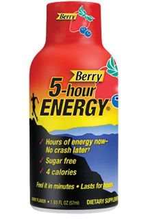 Energy Shots Now Marketed to Senior Citizens