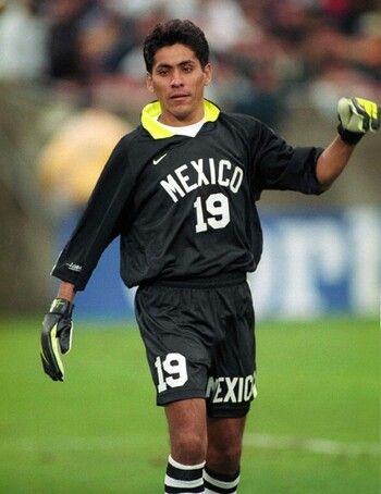 Jorge Campos is my idol because he was the best goalkeeper in mexican history and I want to take that title as well