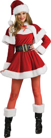 Sexy Santa's Helper Christmas Costume - Sexy Costumes