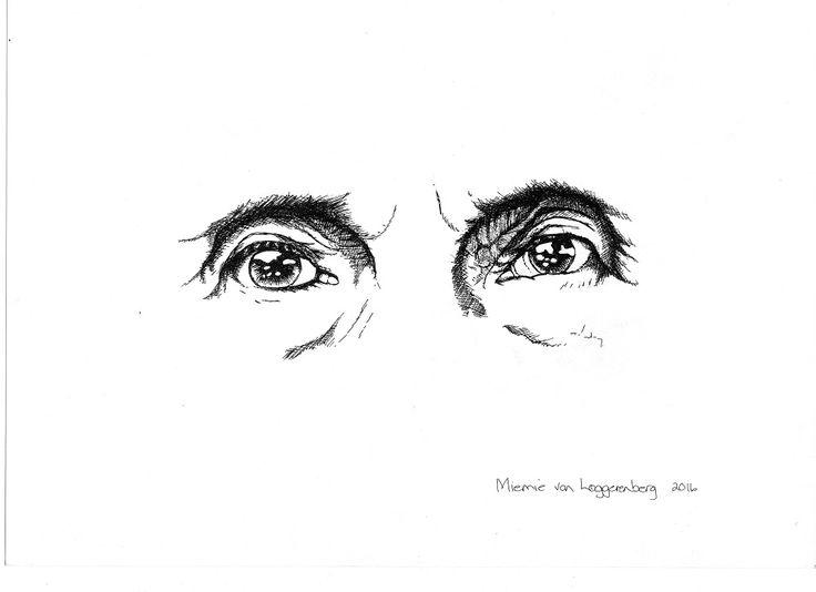 """""""Countenance"""" series by Miemie van Loggerenberg"""