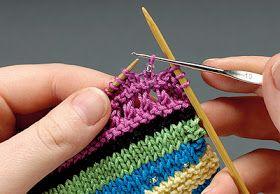 Receita de Tricô: Como colocar miçangas no tricô                                                                                                                                                      Mais