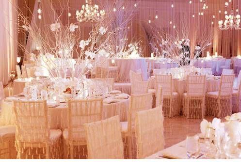Aesthetic | Winter wedding receptions, Wedding reception ...
