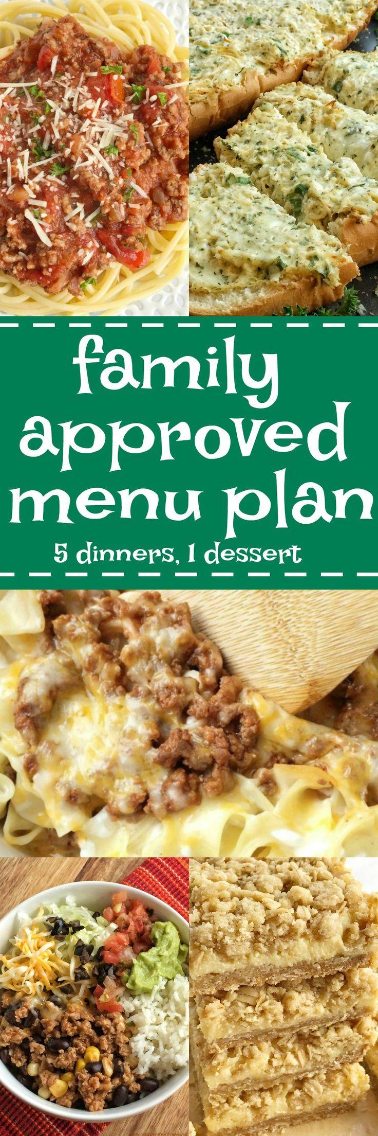 pinterest-family-approved-menu-plan-week2.jpg 1,000×3,000 pixels