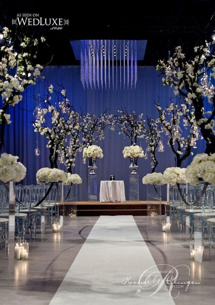 Glamorous Wedding Ideas -  Studio 2000; wedding ceremony idea