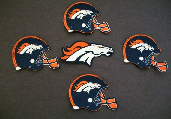 NFL DENVER BRONCOS Sports Logo Iron on Patch Set Applique Style on Etsy, $6.99