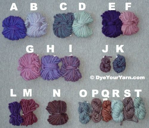 Not natural, but still want to save this link - Purple Formulas for Food Colors
