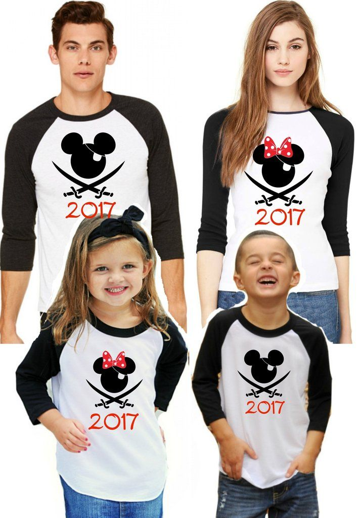 SAMPLE SALE!!  Grab these at half price!!  Brand new! Disney Family Shirts - Pirate Night Cruise 2017 -