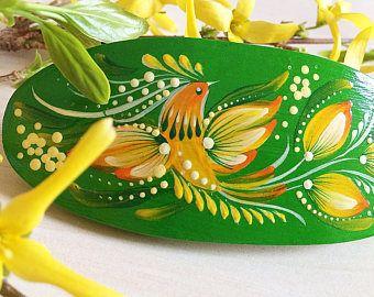 Ukrainian folk art style - Petrykivka. Pink&orange tender flowers. Hand painted poster A4 • ♥ • ♥ • ♥ •  Sketch - Lyudmila Bondarenko. Painting - Yulia Artemova.   A4 (210x297 mm / 8.27x11.7).     • ♥ • Thank YOU and enjoy! • ♥ •