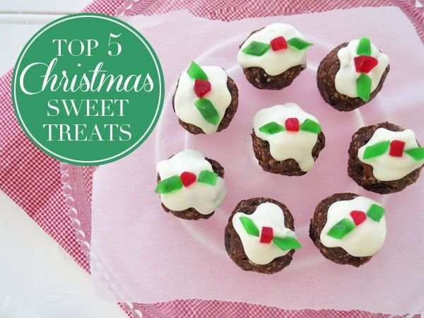 It's that time of year again! Enjoy five of the best Christmas sweet treats.